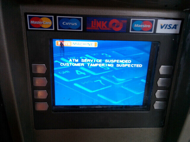 ATM data breach