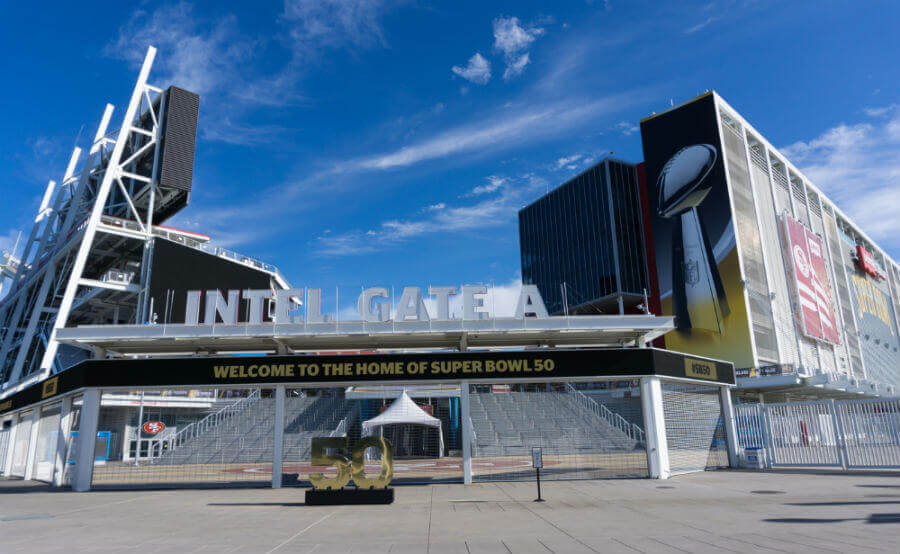 Levi Stadium for Super Bowl