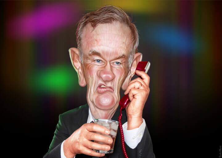 Bill O'Reilly cartoon